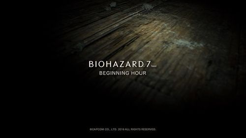 BIOHAZARD 7 TEASER - BEGINNING HOUR -_20160614133524.jpg